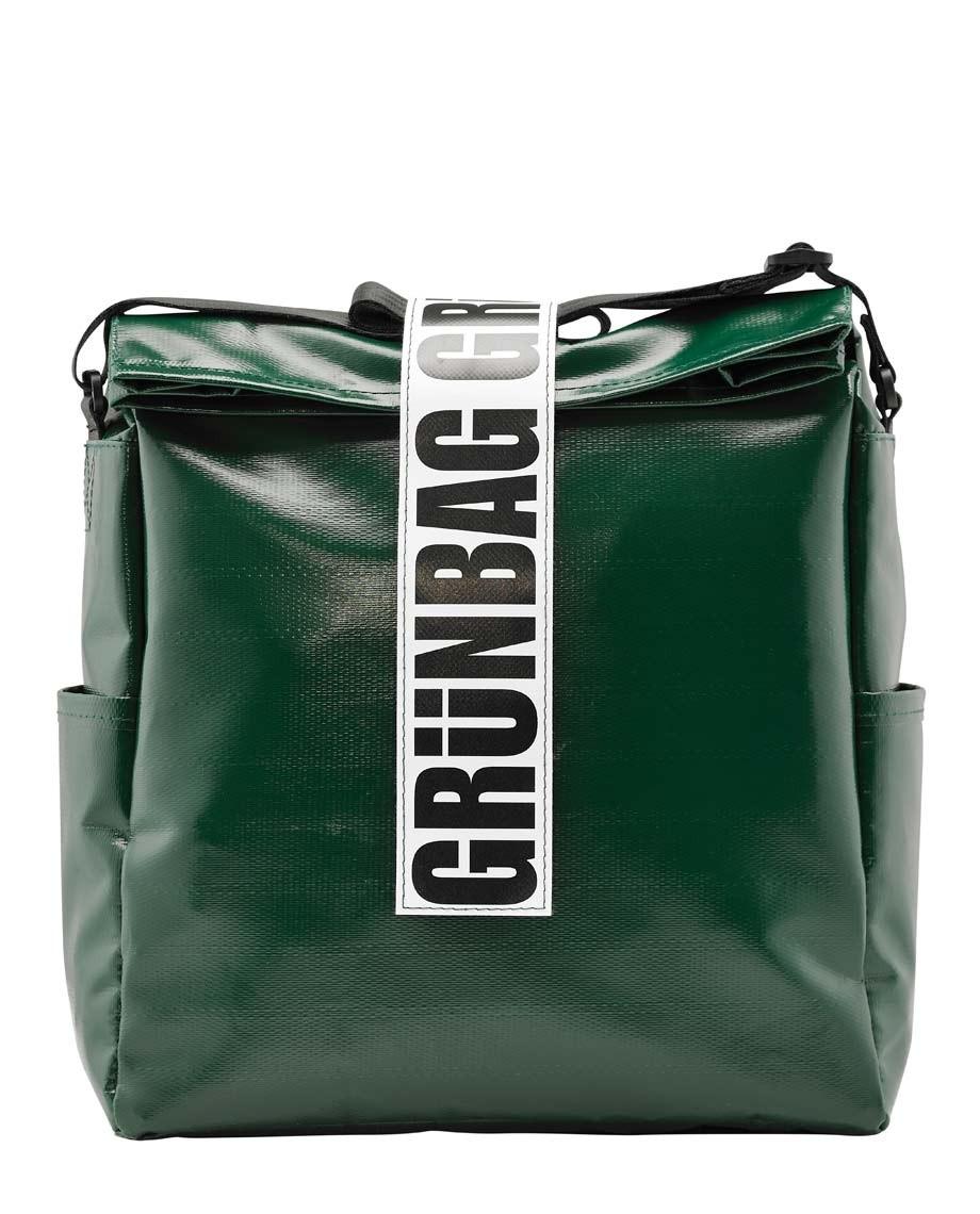 Green Shoulder Bag Architect