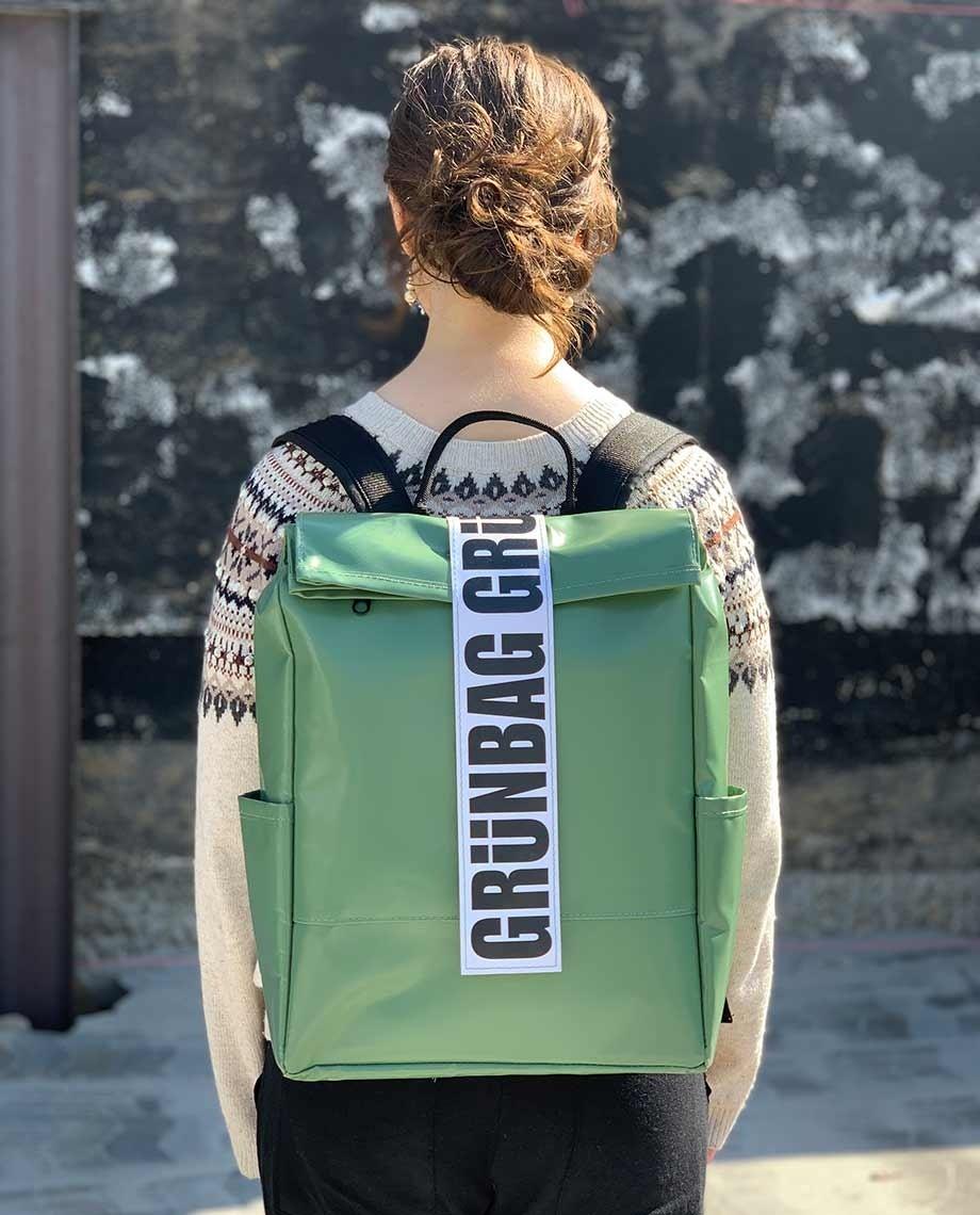 Light Green Backpack Alden