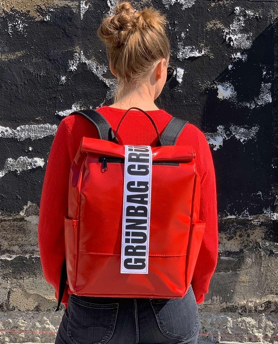 Red Backpack Alden