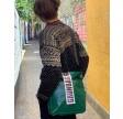 Green Shoulder Bag City