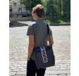 Grey Shoulder Bag City